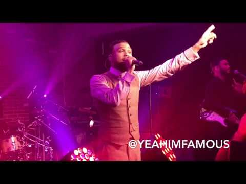 """Jidenna Live """" The Chief """" Album Release Sound Drop Concert in NYC at Kola House for Pepsi"""