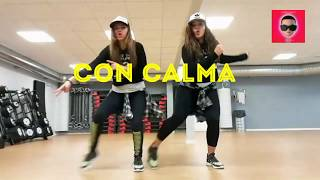 Dance Fitness - CON CALMA - Daddy Yankee - Easy and Original Choreography by Karla Borge