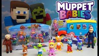 Muppet Babies Rocksplosion School Bus Playset Stop Motion FUN