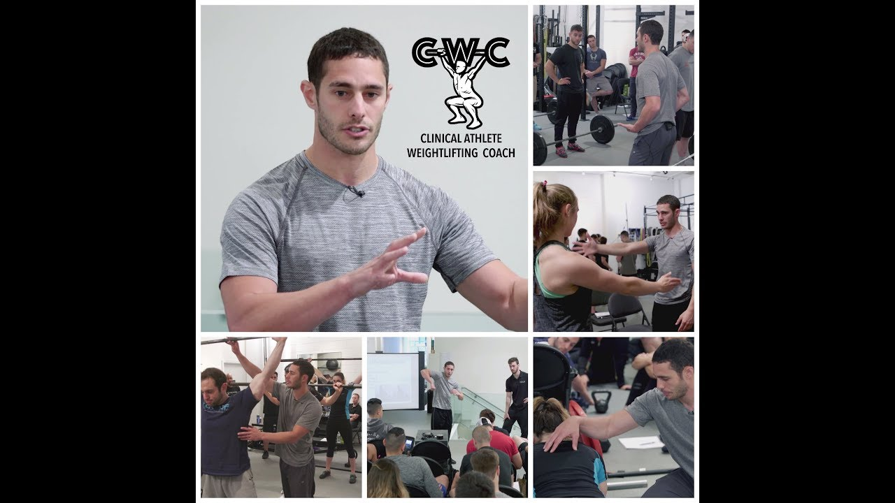 What Is The Clinicalathlete Weightlifting Certification Watch This