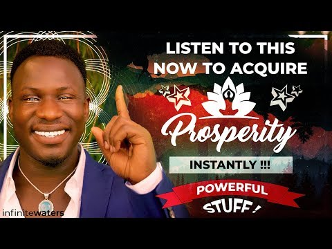 How to Attract Prosperity Now (Law of Attraction!) Powerful!