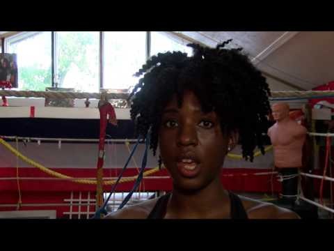Montgomery's Ebony Jones training to be a World Champion