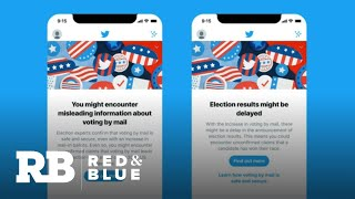 Facebook and Twitter face challenges with election misinformation