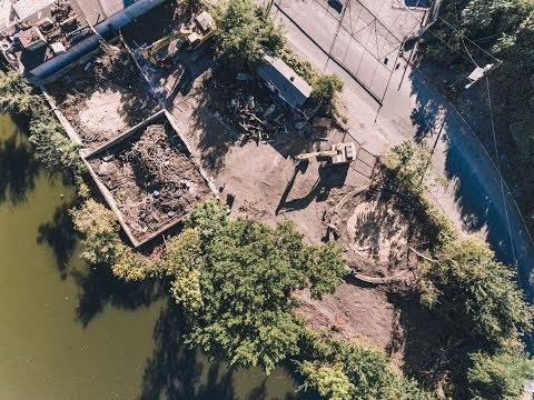 Exploring A Former Oil Site | DJI Aerial