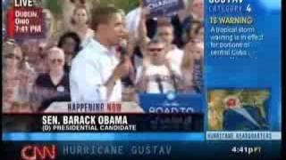 Barack Obama in Dublin, OH, August 30, 2008 Part 3