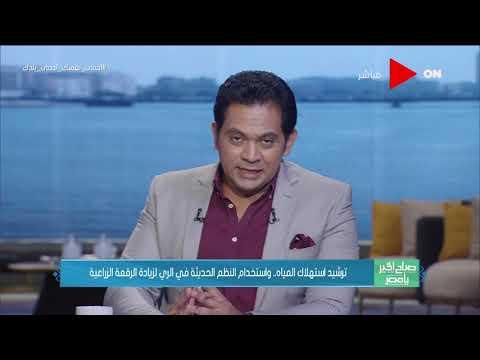 صباح الخير يا مصر - لقاء مع علي إسماعيل وكيل معهد الأراضي والمياه حول استخدام النظم الحديثة في الري  - نشر قبل 15 ساعة