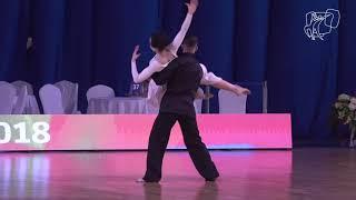 2018 PD World SD LAT   R1 Moraleda - Menes, ESP    DanceSport Total