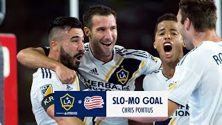 SLO-MO GOAL: Chris Pontius crushes in a half-volley to equalize