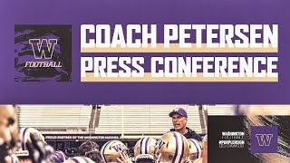 Football: Chris Petersen Press Conference (Aug. 1, 2019)