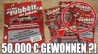 ASMR 50.000€ GEWONNEN ?!?!?! ASMR Penny Rubbellose-Gewinnspiel!