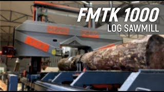 Sabit&Mobil Tomruk Kesim Makinesi & FMTK 1000