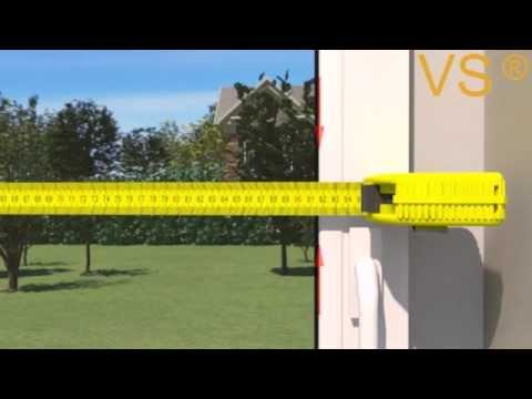 Fabulous Plissee ausmessen für Montage in der Glasleiste - YouTube JV39