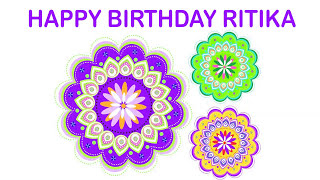 Ritika   Indian Designs - Happy Birthday