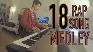 18 Rap/Hip Hop Songs in Under 5 Minutes! (Piano Medley) Video