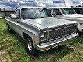 1978-Chevy-C10-Pickup-V8-350-Fleetside-silver