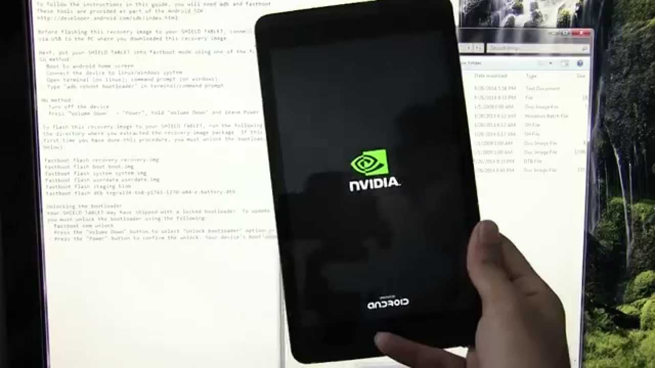 Nvidia Shield Tablet - How to go back to Stock / Factory Firmware (Unroot)