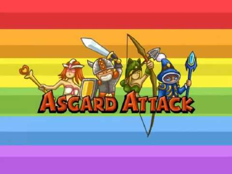 Игра Защита Замка   Атака на Асгард + Прохождение 16 уровней