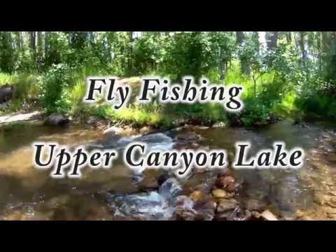 Fly Fishing Above Beautiful Canyon Lake
