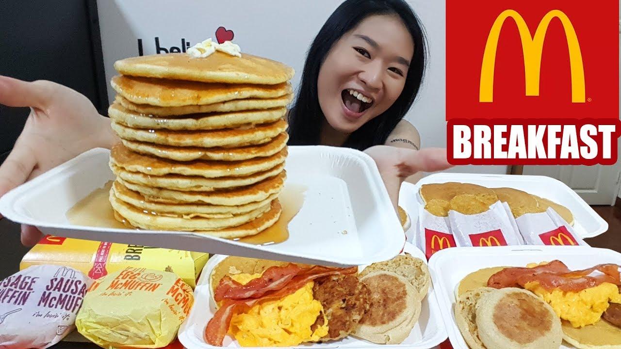 MCDONALD'S BREAKFAST FEAST!! Big Breakfast, Hotcakes ...