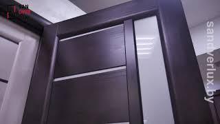 Обзор межкомнатной двери из массива сосны Вега 9, Вилейка - Sandverlux.by
