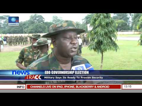 Edo Governorship Election: Army Displays Show Of Force In Benin City