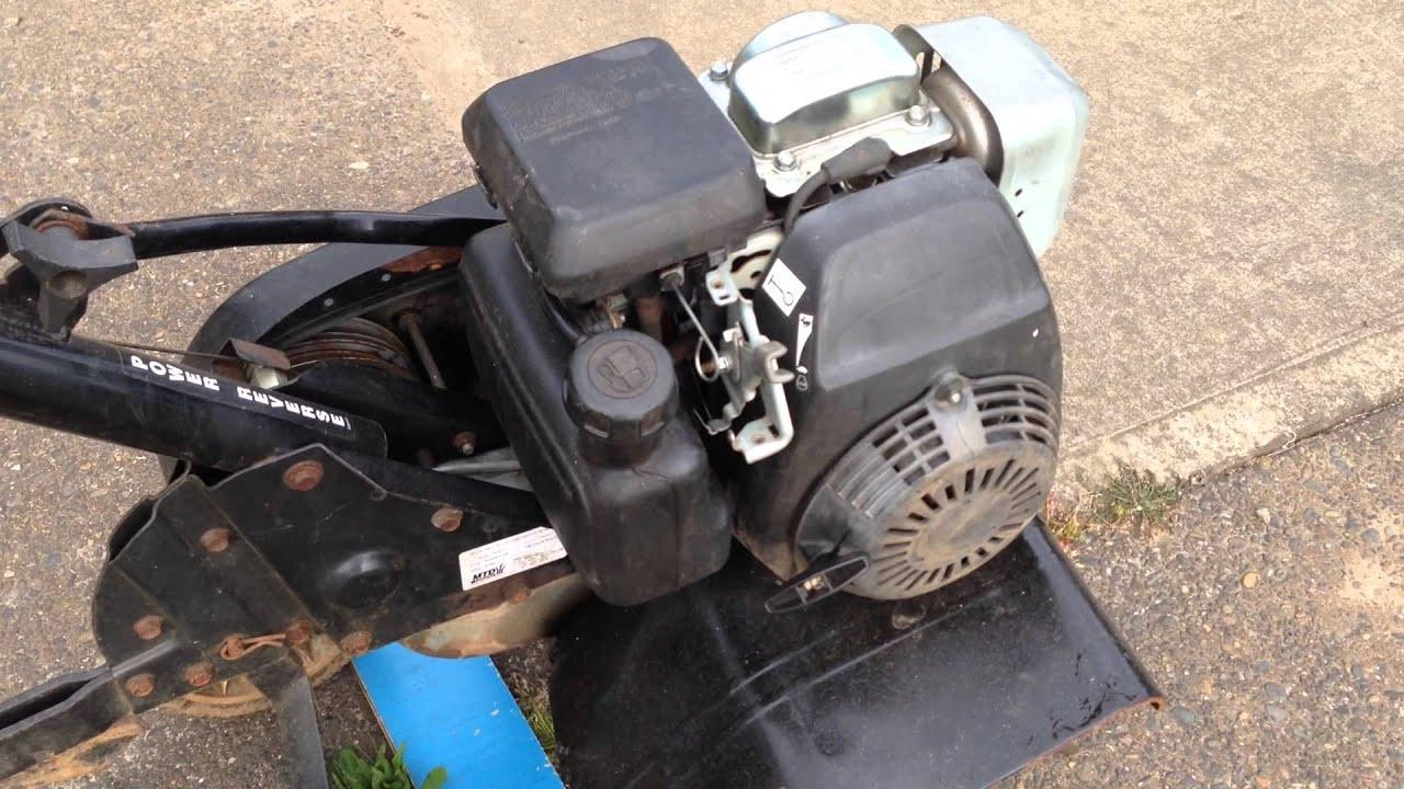 Mtd 24 U0026quot  Rototiller With Honda Gc160 - 5 Hp Engine