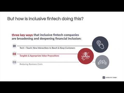 Three Proven Strategies for Making Fintech Inclusive  Webinar Recording