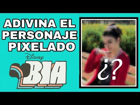 Adivina El Personaje Pixelado - Nivel Bia | Disney Bryan
