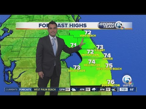 South Florida weather 12/10/16