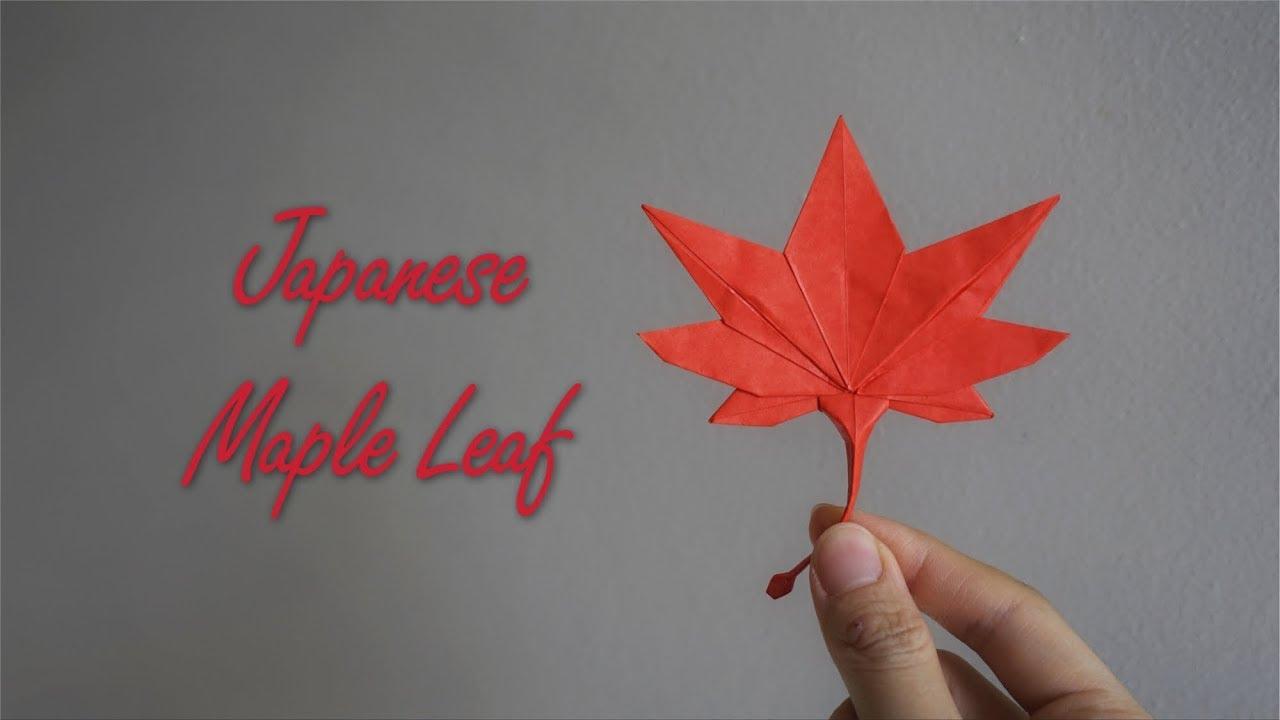 Origami Tutorial: Japanese Maple Leaf (Hidehisa Inayoshi ... - photo#21