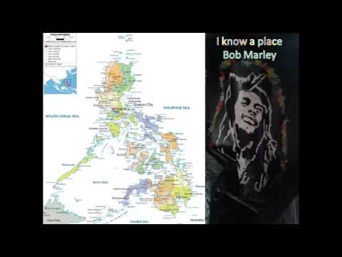 I know a place-Bob Marley compas Republic of the Philippines