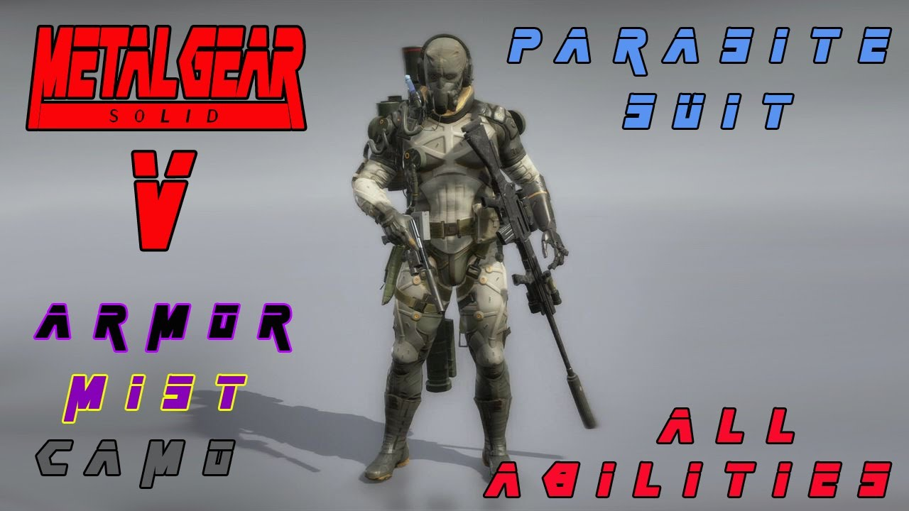 Metal Gear Solid V Parasite Suit And All Abilities Gameplay