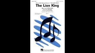 The Lion King (Medley, 1994) (SATB Choir) - Arranged by Mark Brymer