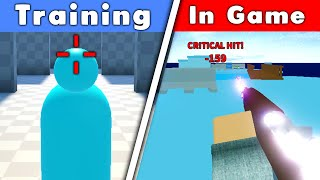 I used an Aim Trainer.. Did it make me aimbot? (Roblox Arsenal)