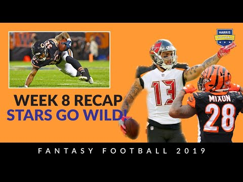 Week 8 Rewind: Mike Evans, David Montgomery, Mixon - Fantasy Football 2019