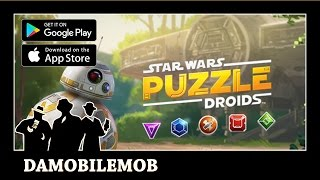 ★ STAR WARS PUZZLE DROIDS by Disney and Lucas Arts (iOS, Android Gameplay)