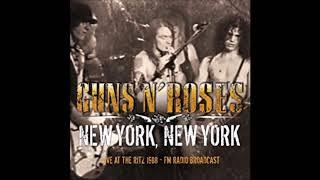 Guns N' Roses - New York, New York: Live at The Ritz 1988 (Complete Album)