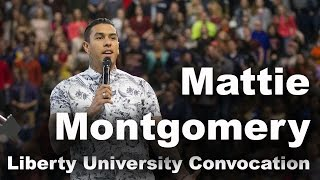 Mattie Montgomery - Liberty University Convocation