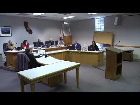 Trinity County Board of Supervisors 01-02-2019