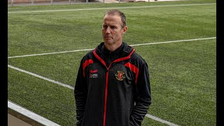 The managers thoughts | Annan Athletic 2-0 Forfar Athletic