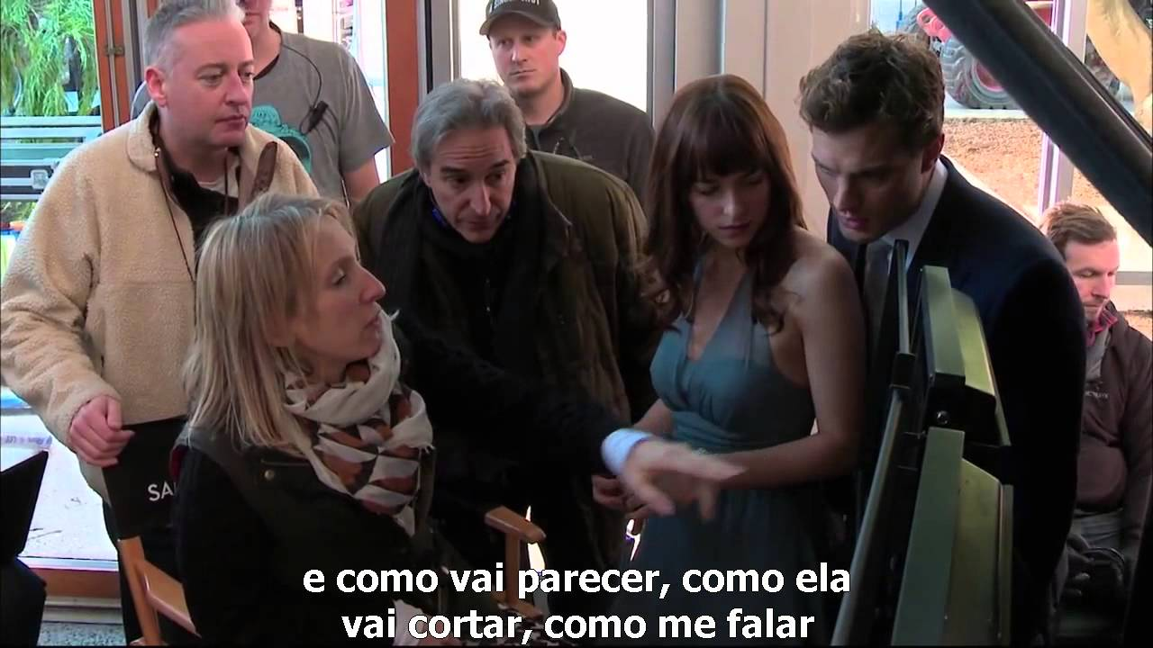 [LEGENDADO] Bastidores 50 Tons de Cinza  – Sam Taylor Johnson
