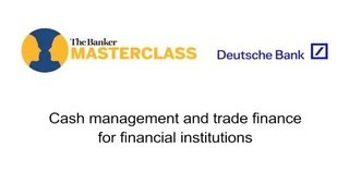 Cash management and trade finance for financial institutions, with Marcus Sehr & Daniel Schmand