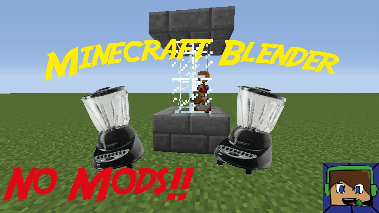 Minecraft: Tutorial: How To Make A Blender |NO MODS| - YouTube