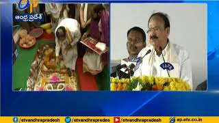VP Naidu lays foundation stone of NIDM's South campus in Andhra