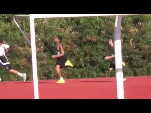 Zach Miller 200m Roseville HS Granite Oaks Middle School April 28, 2013