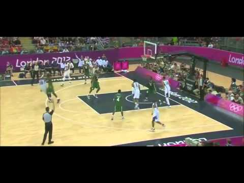 Carmelo Anthony - 37 Points in 14 Minutes with Nigeria