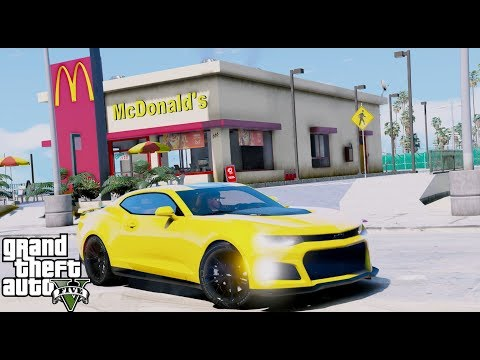 Buying A McDonalds Franchise! First One In Los Santos - GTA 5 REAL LIFE MOD #67