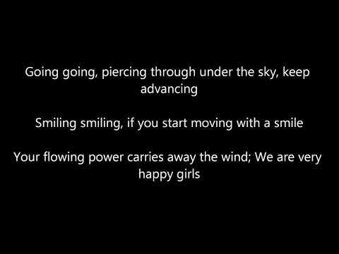 Sakura Gakuin - Song for Smiling English Lyrics