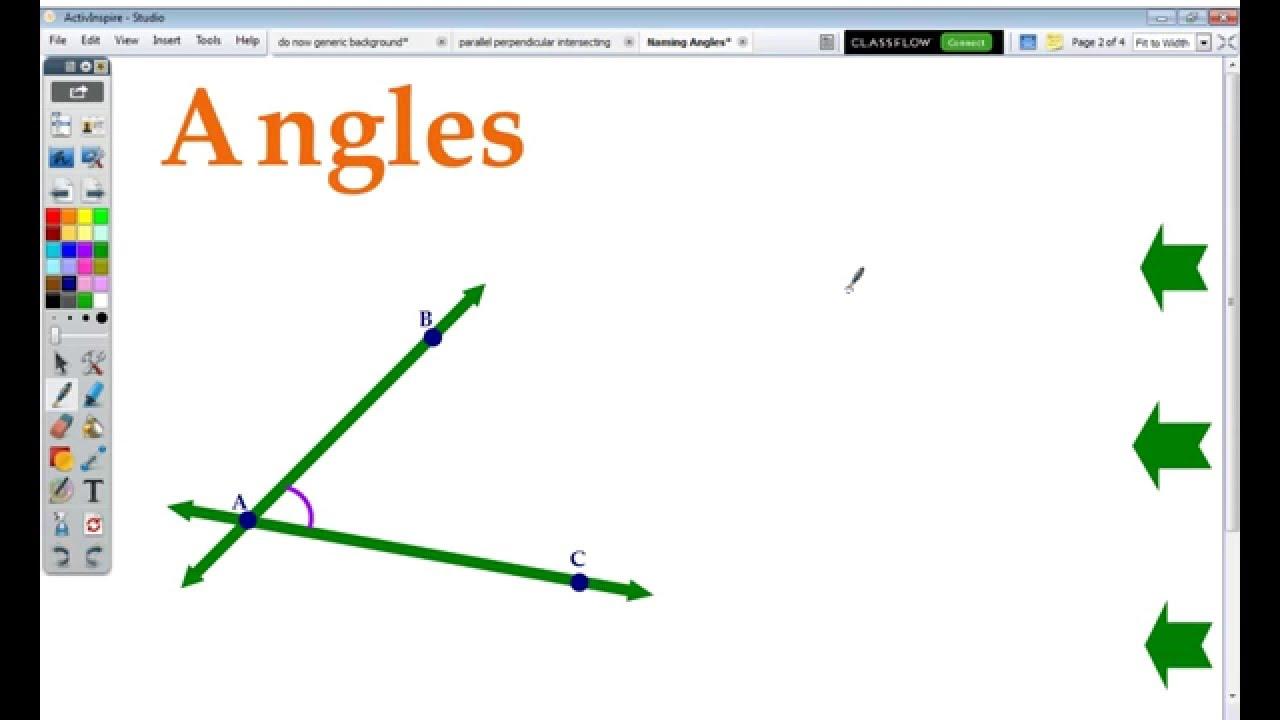 worksheet Naming Angles naming angles youtube angles
