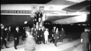 Remarks at Andrews AFB following the Assassination of John F. Kennedy, 11/22/63. MP2105.